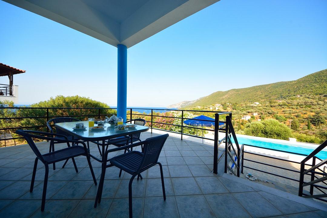 Die blaue Villa