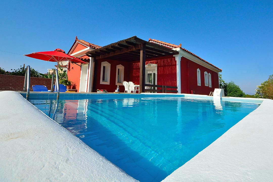Die rote Villa